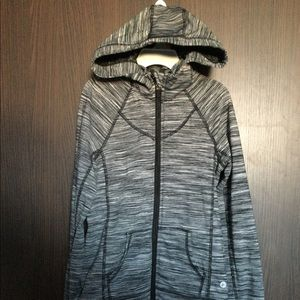 90 Degree by reflex girls zip up hoodie Size:M